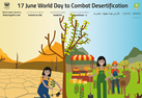 World Day to Combat Desertification 2018 poster