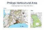 Philippi Horticultural Area map