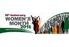 Women's Month, August 2016 logo